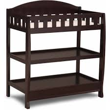 Changing Table Cost Delta Children Wilmington Changing Table With Pad Chocolate