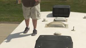 going up on an rv roof how and when to walk rvrc