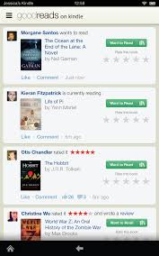 goodreads blog post introducing goodreads on the new kindle fires