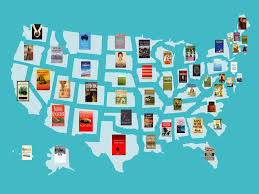 State Map Games by Map Of The Most Famous Book Set In Every State Business Insider