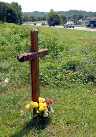 roadside crosses roadside memorials honor crash victims news lancasteronline