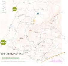 Atlanta County Map Georgia Road And Trail Maps