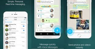 best android text app 7 best android messaging apps for android 2018 around android
