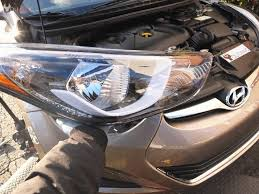 hyundai elantra headlight bulb headlight assembly replacement hyundai elantra 2011 2016