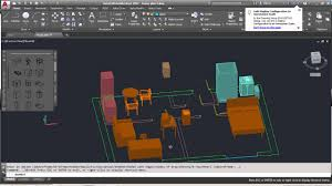 autocad complete floor plan part 5 positioning 3d objects
