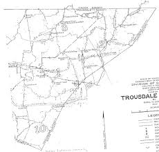 County Map Of Tennessee by Map Of Trousdale County Tennessee