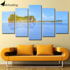 aliexpress com buy 5 pieces canvas art painting hd printed