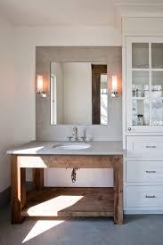 Reclaimed Wood Vanity Bathroom Extraordinary Reclaimed Wood Vanity With Double Sink And Oil