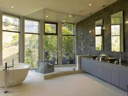 bathrooms by design bathroom designs high minimalist stained wood rack furniture wall