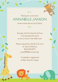 design sample baby shower invitations