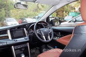 toyota website india 2016 toyota innova crysta review indian cars bikes