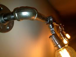 Industrial Lighting Fixtures For Kitchen by Industrial Track Light Industrial Track Lighting Steel Pipe