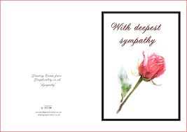 sympathy cards lovely condolences cards formal letter