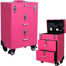 Pink Filing Cabinet Pink Cosmetic Makeup Box U0026 Cases Just In Time For Spring