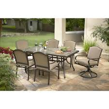 Agio 7 Piece Patio Dining Set - patio dining sets toros outlet a true outlet place