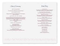 wedding programs printable wedding program templates lisamaurodesign
