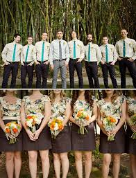 wedding party attire tulips and tea the coolest wedding party in town