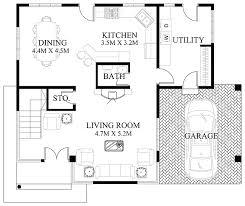 Modern Home Designs And Floor Plans Modern House Design Series Mhd 2012006 Pinoy Eplans Modern