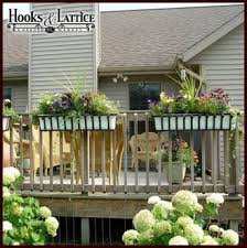 Hanging Plants For Patio Best 25 Railing Planters Ideas On Pinterest Flowers For Hanging