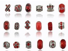 red charm bracelet images Charm central mixed red charms for charm bracelets 18 charms for jpg