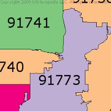 map of pomona california pomona california zip code boundary map ca