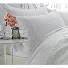waffle luxury white bed linen luxury bed linen