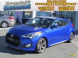 hyundai veloster turbo colors 2013 marathon blue hyundai veloster turbo 72551148 gtcarlot com