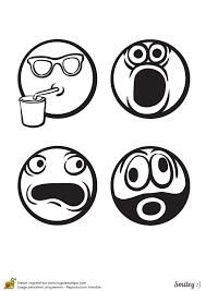 dessin rigolo d u0027émoticônes à colorier boisson cri pas content