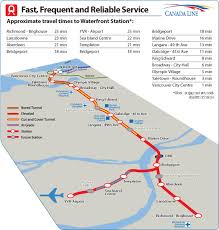 vancouver skytrain map city of richmond bc rapid transit project