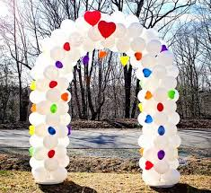wedding arch balloons bridal theme balloon arch