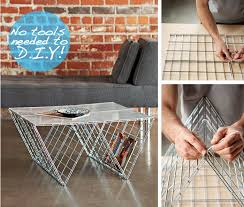 Wire Side Table Diy Wire Coffee Table