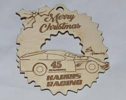 wood race cars etsy