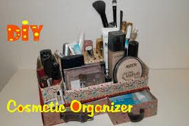 homemade makeup organizer diy makeupjewelry organizer youtube