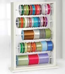 ribbon spools best 25 ribbon holders ideas on craft ribbon storage