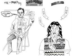 thrill murray coloring book bill murray coloring pages for adults
