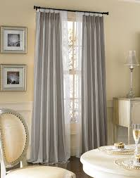 Grey Faux Suede Curtains Satisfying Illustration Of Zesty Popular Window Treatments