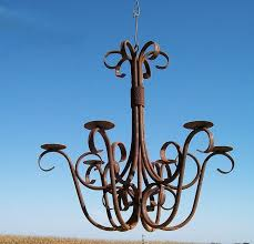 Antique Iron Chandeliers Wrought Iron Candle Chandeliers