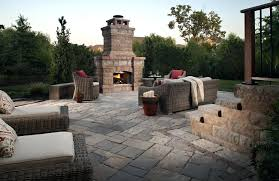 Stacked Stone Outdoor Fireplace - outdoor fireplace installation a click to enlarge image outdoor