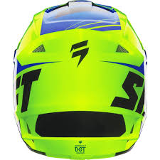 shift motocross helmets shift racing 2016 assault race helmet yellow blue available at