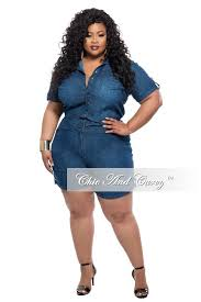 plus size denim jumpsuit plus size denim jumpsuit romper with sleeves chic and