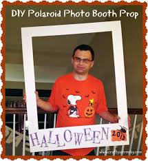 halloween photo booth background diy polaroid photo booth prop finally instructions on how to