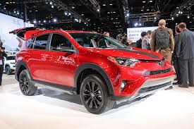 mitsubishi adventure 2017 price 2018 toyota rav4 adventure makes its debut in the windy city
