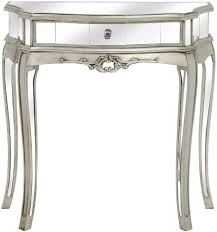 William Hill Interiors Buy Hill Interiors Argente Mirrored Bedside Table 2 Drawer