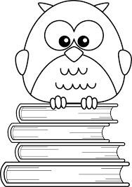 Owl Coloring Pages For Kids Printable Coloring Pages 4 Kids Books Coloring Page
