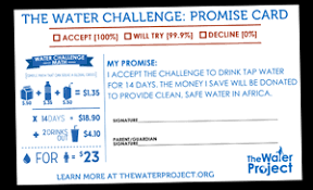 Water Challenge How To Do The Water Challenge Fundraiser Kit