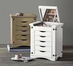 Jewelry Armoire Under 50 Ultimate Jewelry Box Pottery Barn