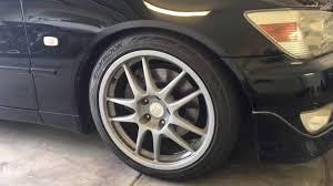 lexus is300 brake kit is200 brake pad and rotor upgrade youtube