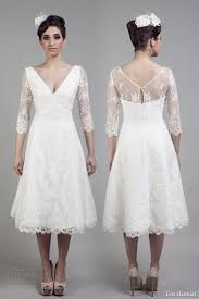 short lace wedding dress with sleeves wedding dresses