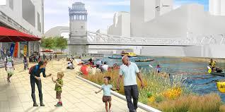 Chicago Riverwalk Map by Chicago U0027s Riverwalk Topics U0026 News Chicago Architecture