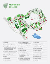 Boston College Campus Map by David Wong Graphic Designer
